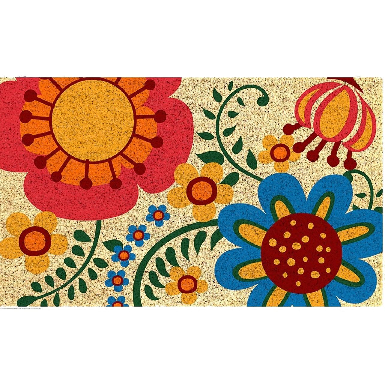 Spring doormat
